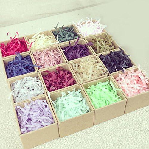 100g Colorful Shredded Tissue Paper Gifts Box Hamper Stuffing Filler Amazon Co Uk Kitchen Home