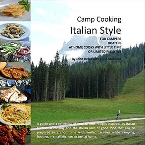 Book Camp Cooking Italian Style by John Helm (2012-10-03)
