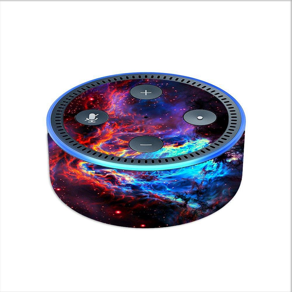 Skin Decal Vinyl Wrap for Amazon Echo Dot 2 (2nd generation) / Cosmic Color Galaxy Universe itsaskin