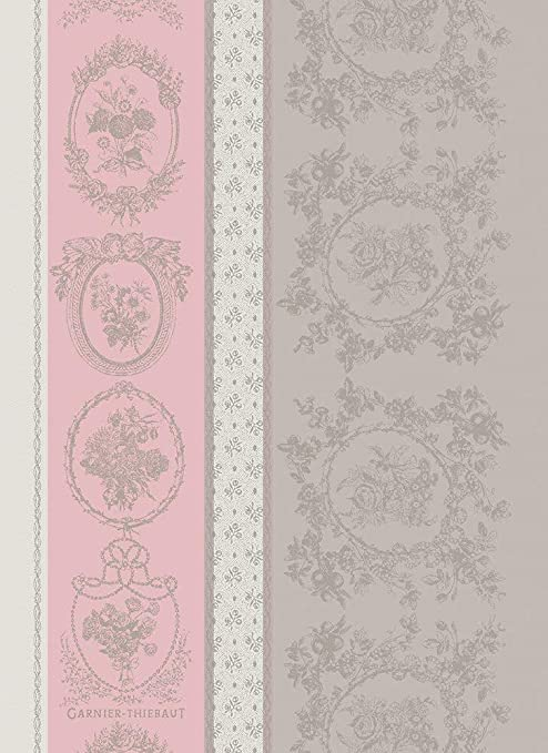French Kitchen Dish//Tea Towel Jacquard French Pastries Cotton Made In France