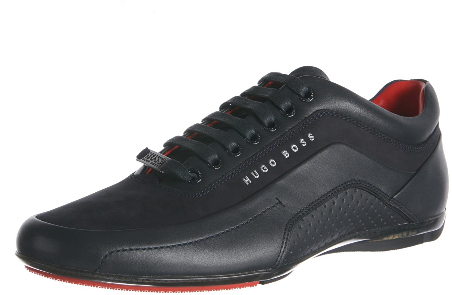 factory authentic 100% high quality cheapest price Hugo Boss Men HB Racing Sneakers Shoes