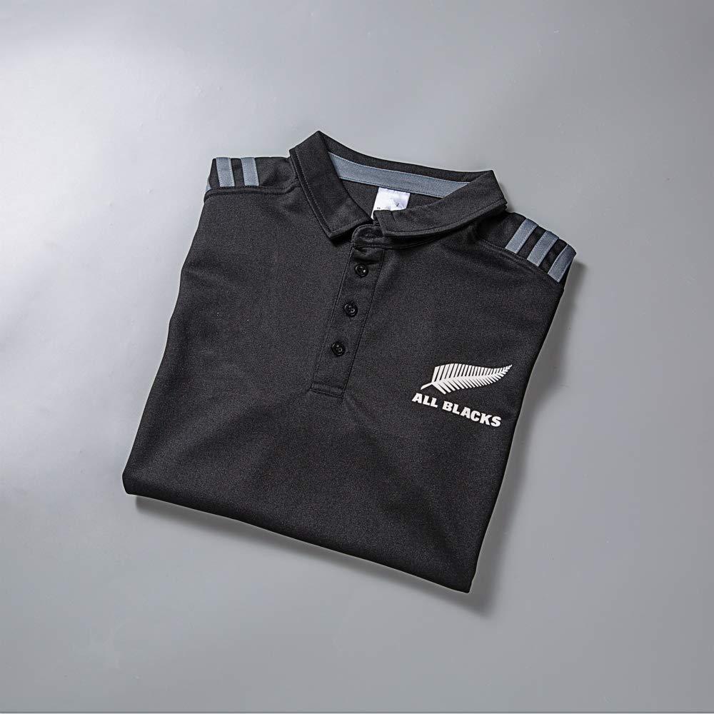 CRBsports Equipo De Nueva Zelanda, Todos Los Negros, Polo De Rugby ...