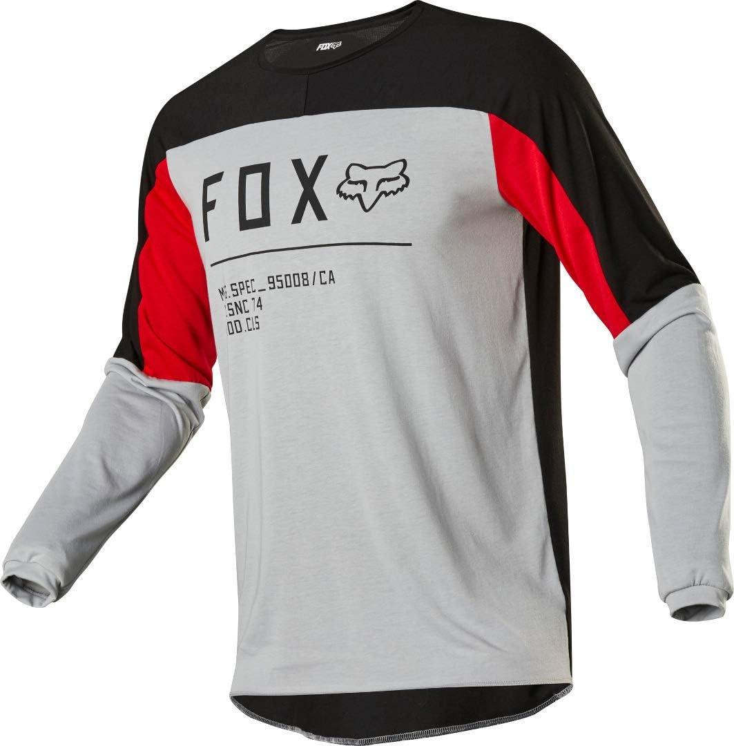 Fox Racing Legion Dr Gain Jersey Grey Small