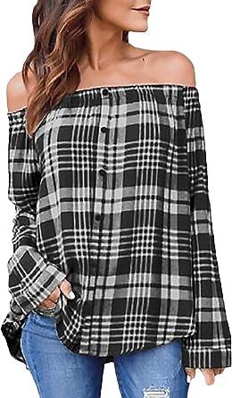 Betrothales Camisa De Manga Larga De Otoño Elegante para Mujer Blusa Larga para Mujer Camisa De