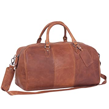 Sac de voyage cabine The Chesterfield Brand William Pocket 46 cm Cognac marron 6QbtzQrb