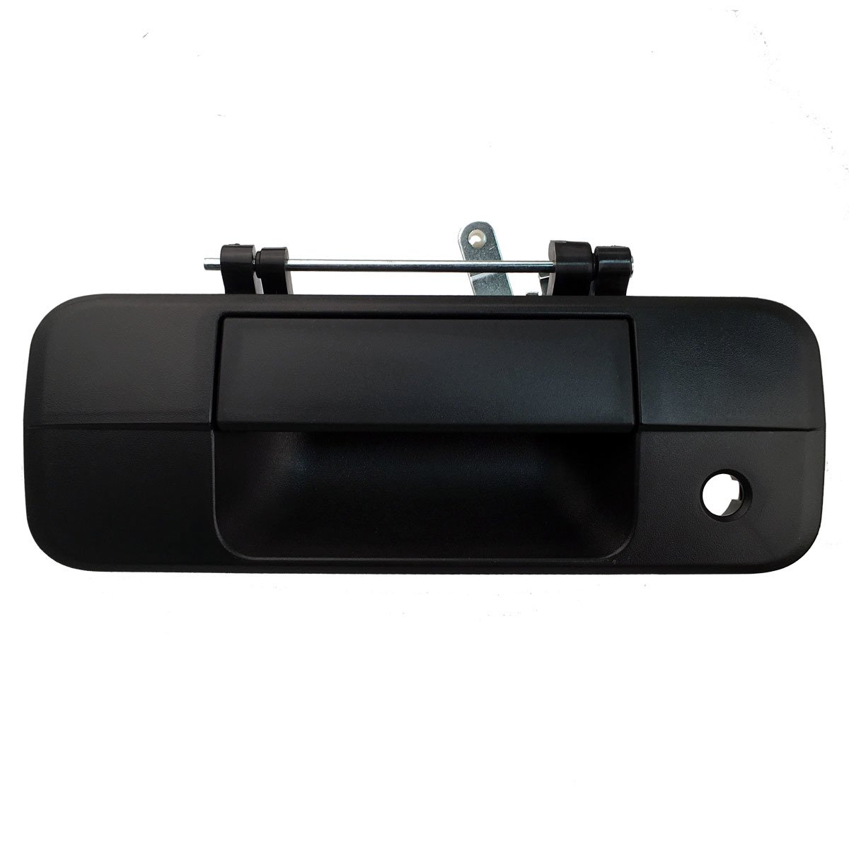 2007-2013 Toyota Tundra Pickup Truck Black Textured Tailgate Liftgate Door Handle (2007 07 2008 08 2009 09 2010 10 2011 11 2012 12 2013 13) by Aftermarket Auto Parts