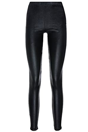 Minkpink Out Of This World Black Faux Leather Leggings at Amazon ... b253d13c3