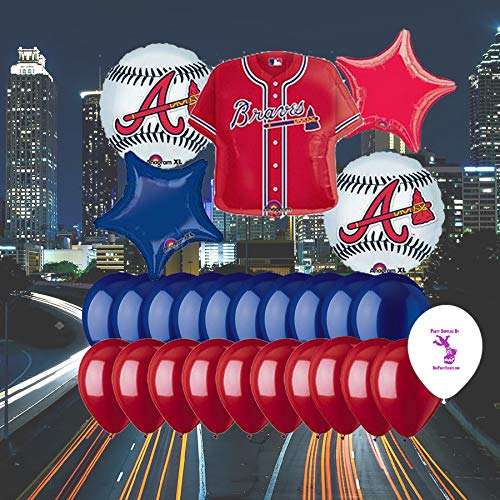 Anagram Atlanta Braves 25 Piece Balloon