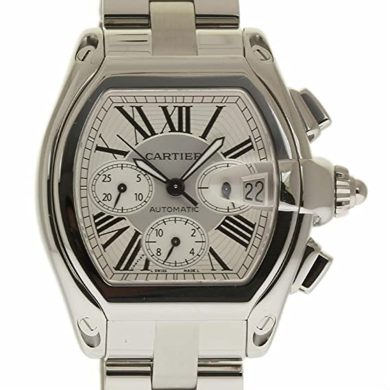 Cartier Roadster Swiss-Automatic Mens Reloj W62019 X 6 (Certificado) de Segunda Mano: Cartier: Amazon.es: Relojes