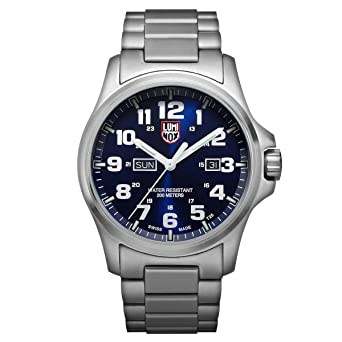 f7627509f9f Amazon.com   Brand New  Luminox Men s ATACAMA FIELD DAY DATE 1920 ...