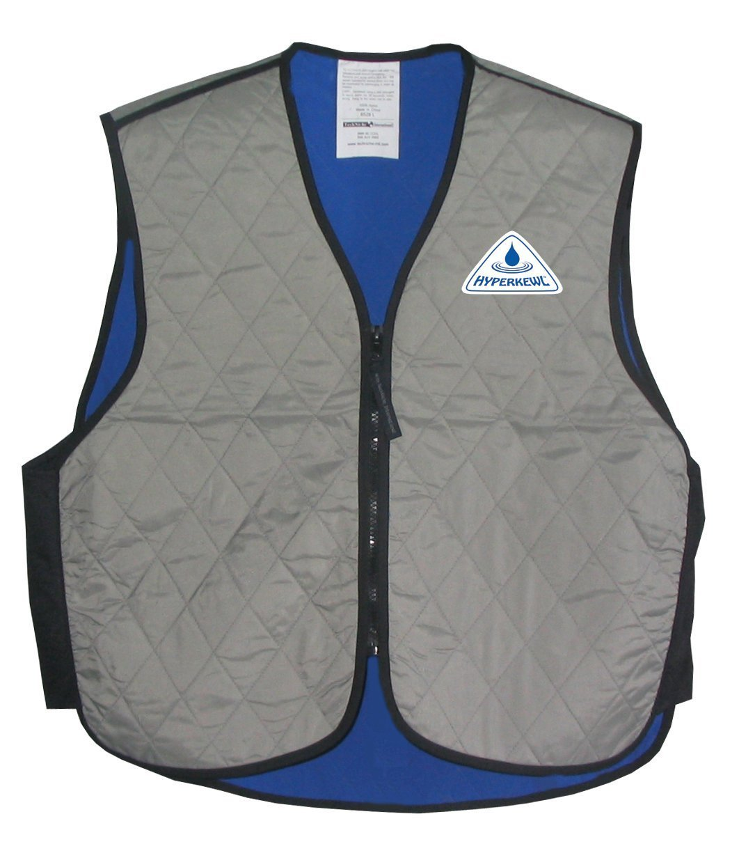HyperKewl Cooling Sport Vest - Enhance your performance in the Heat! - -SILVER-MED