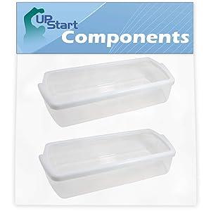 2-Pack W10321304 Refrigerator Door Bin Replacement for Kenmore/Sears 106.51103110 Refrigerator - Compatible with WPW10321304 Door Bin