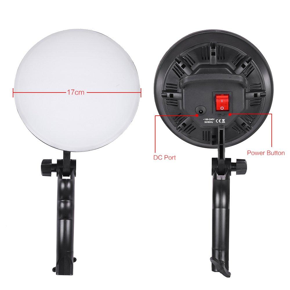 Andoer® LED Fotografie Studio-Beleuchtung-Licht-Kit: Amazon.de: Kamera