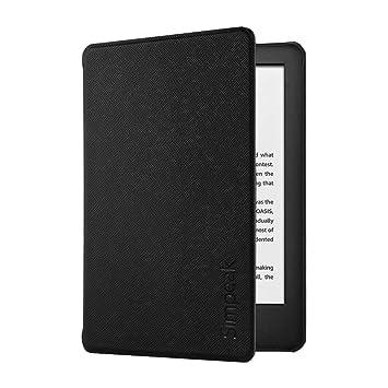 Simpeak Funda Carcasa Kindle 2019 [5 años de garantía], 10th generación Kindle 2019 Case con el Soporte Reposo Automático de Despertador para Nuevo ...