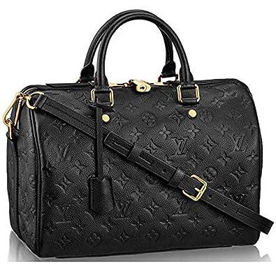 f8cfcfc981627a Authentic Louis Vuitton Speedy Bandouliere 30 Cross Body Leather Handles  Bag Handbag Article:M41028: Handbags: Amazon.com