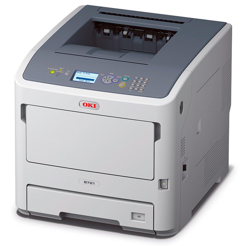 OKI B721dn 1200 x 1200DPI A4 - Impresora láser (LED, 1200 x 1200 DPI, A4, 530 hojas, 47 ppm, Impresión dúplex)