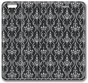 Chandelier Damask Pattern Leather Case for iPhone 6
