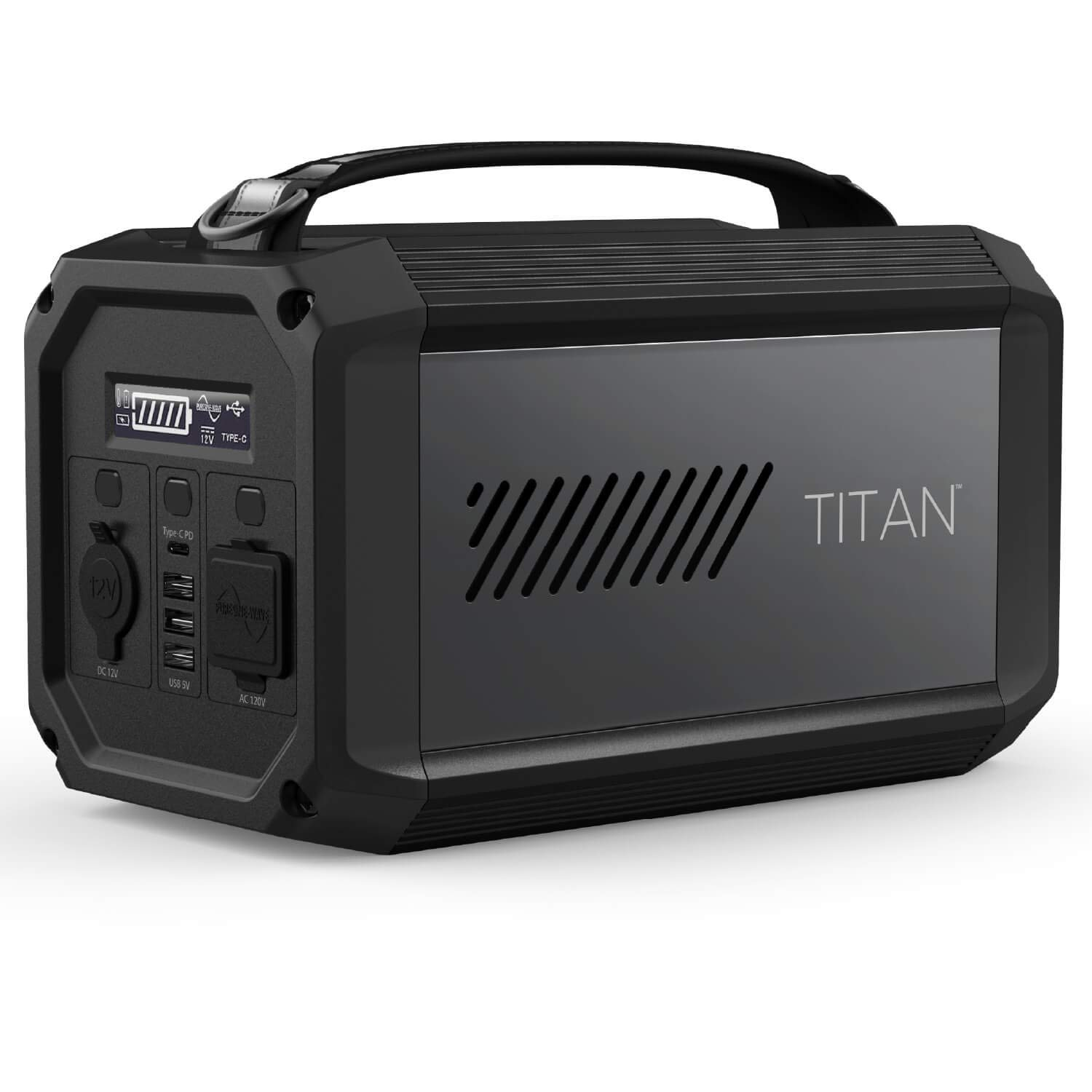 X-Doria Raptic Titan Portable Power Station (Formerly Defense Titan), 225Wh Backup Lithium Battery, Generator for Outdoors Camping Festivals Travel Emergency