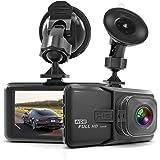 "Dash Cam HaWacha Dash Camera for Cars with Full HD 1080P 170 Degree Super Wide Angle Cameras, WDR, Loop Recording,G-Sensor, 3.0"" TFT Display, Night Vision …"