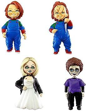TOMY Chucky el muñeco diabólico Set 4 Figuras Versión Normal ...