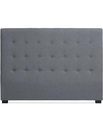 Intense Déco - Tête de lit capitonnée Premium Tissu 160cm Gris f756c1abb804