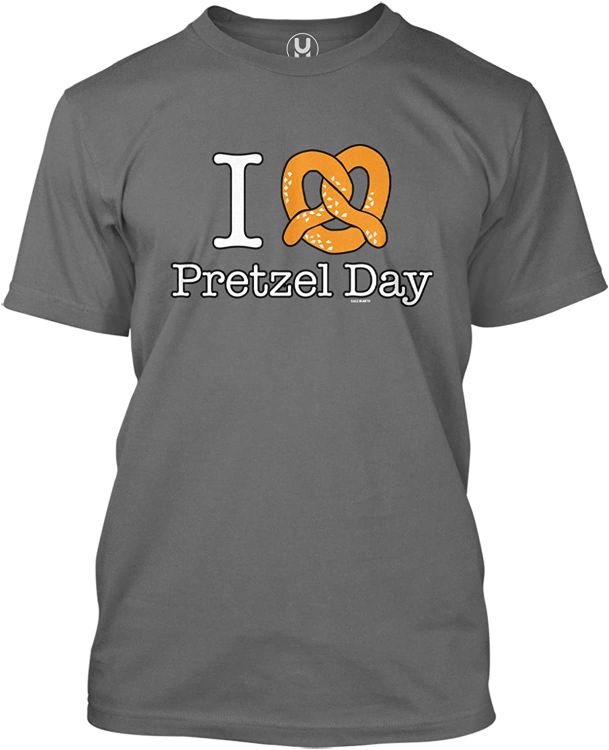 I Love Pretzel Day - Comedy TV Show Parody Men's T-Shirt