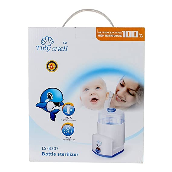 N&M Electric Steam Baby Bottle Sterilizer (3 Bottles)