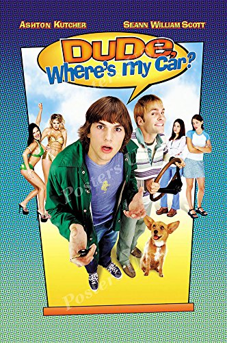 "Posters USA - Dude Where is My Car Movie Poster GLOSSY FINISH- MOV272 (24"" x 36"" (61cm x 91.5cm))"