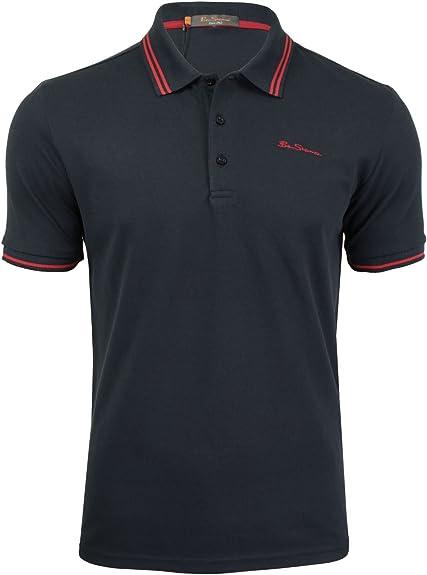 BEN SHERMAN CLAIC Tipped Pique Polo Tops y Camisetas Hombres ...