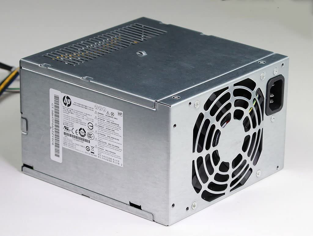 320-Watts total power series Standard CMT - Four 12VDC output connections For Convertible Microtower PSU HP 613765-001 Power supply unit