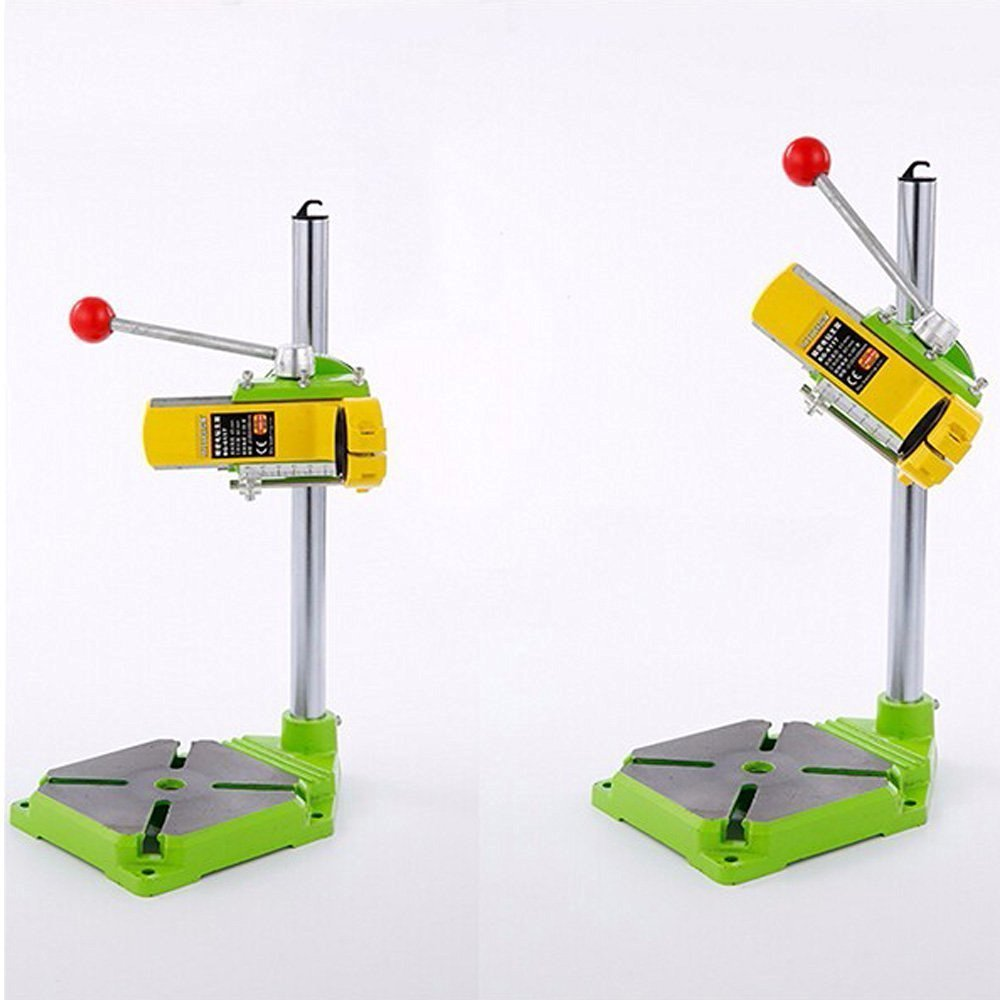 Xiangtat Bench Drill Stand/Press Mini Electric Drill Carrier Bracket 90° Rotating Fixed Frame by Xiangat (Image #4)