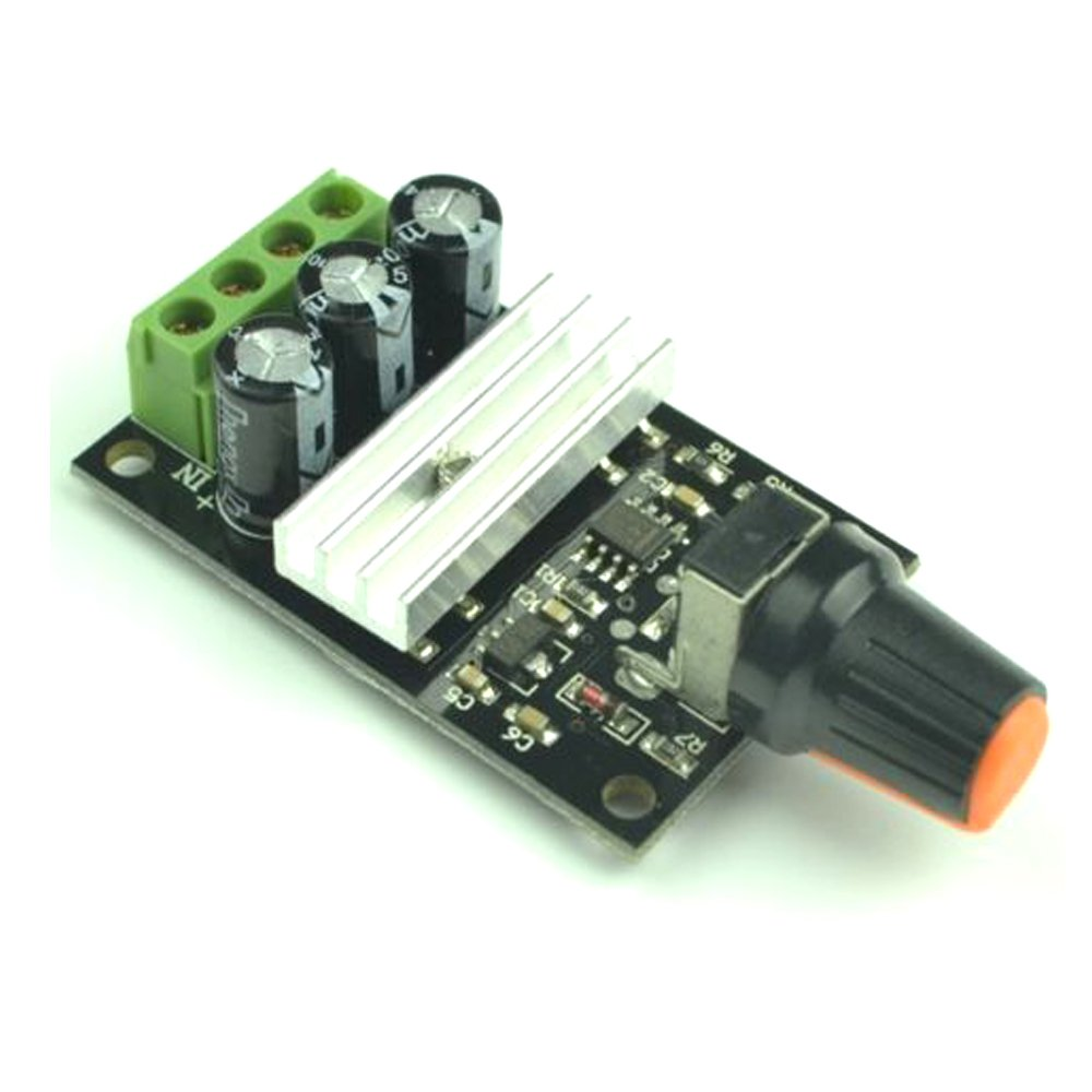 Solu Dc Motor Speed Controller 6v 12v 24v 3a Pwm Based Circuit Electronic Circuits Free Electronics