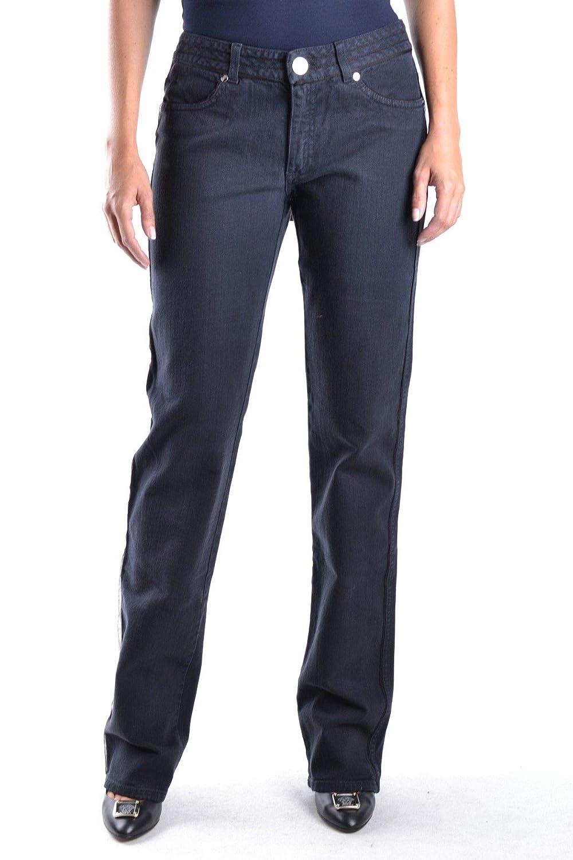 La Perla Women's MCBI11728 Black Cotton Jeans