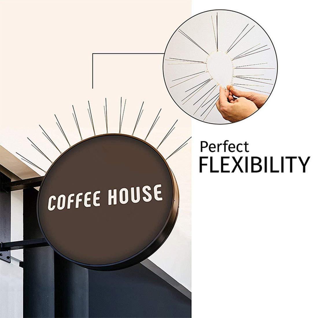 Amazon.com: Pinchos flexibles de acero inoxidable para ...