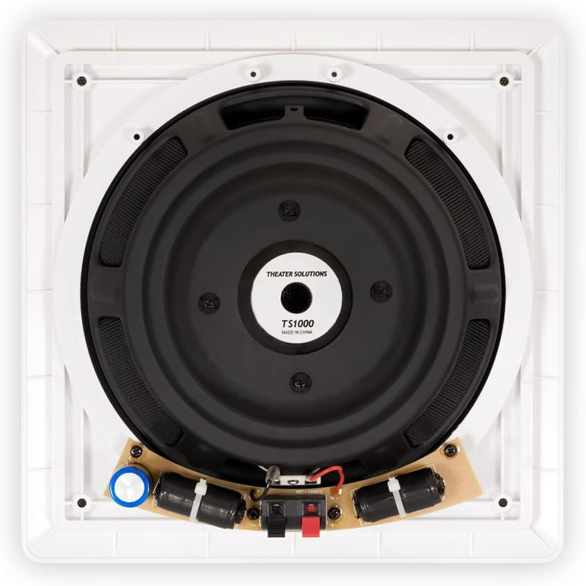 Theater Solutions TS1000 Passive 10 Home Theater in Wall Subwoofers 4 Sub Set
