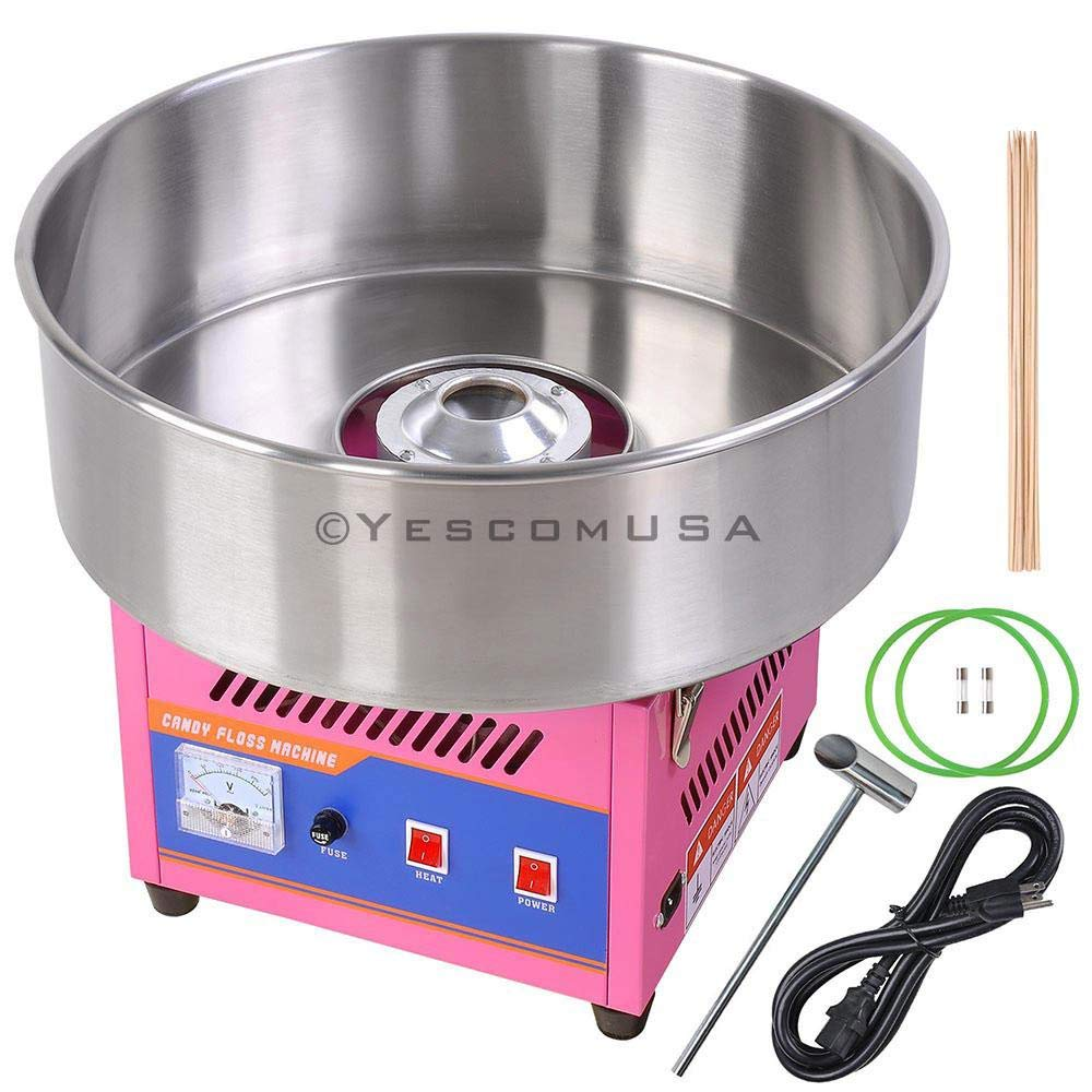 Commercial Electric Cotton Candy Maker