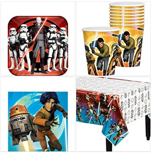 Star Wars Rebels Party Pack 8 Guests by Party Supplies