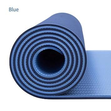 RCFRGVVEVCF Estera de Yoga 6Mm TPE Esterillas de Yoga ...