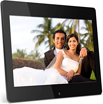 Color : Black 14 inch High-definition Digital Photo Frame Electronic Photo Frame Showcase Display Video Advertising Machine Durable