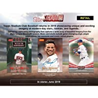$89 » 2019 Topps Stadium Club Baseball Hobby Box (16 Packs/Box, 2 Autographs/Box)