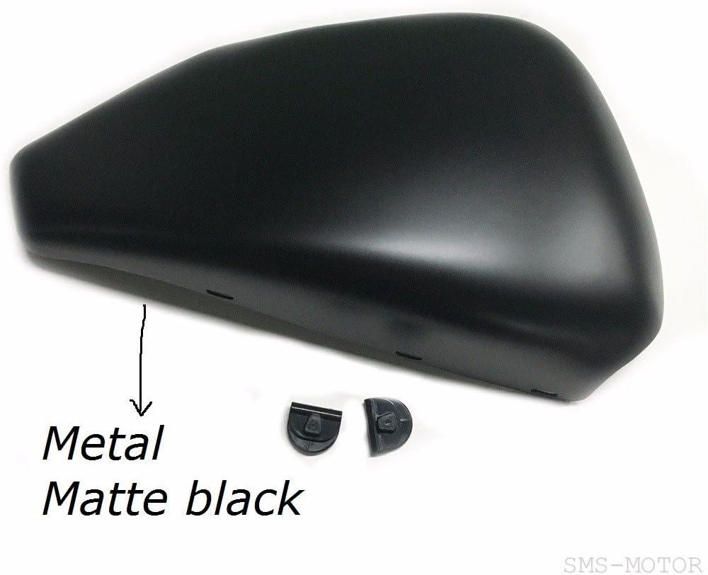 Black Left Side Battery Cover for 2014-2017 Harley Sportster 883 1200 48 72 Models Matte