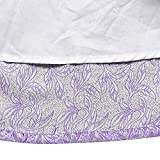 Sunny Fashion LS16 Girls Dress Purple Bow Tie