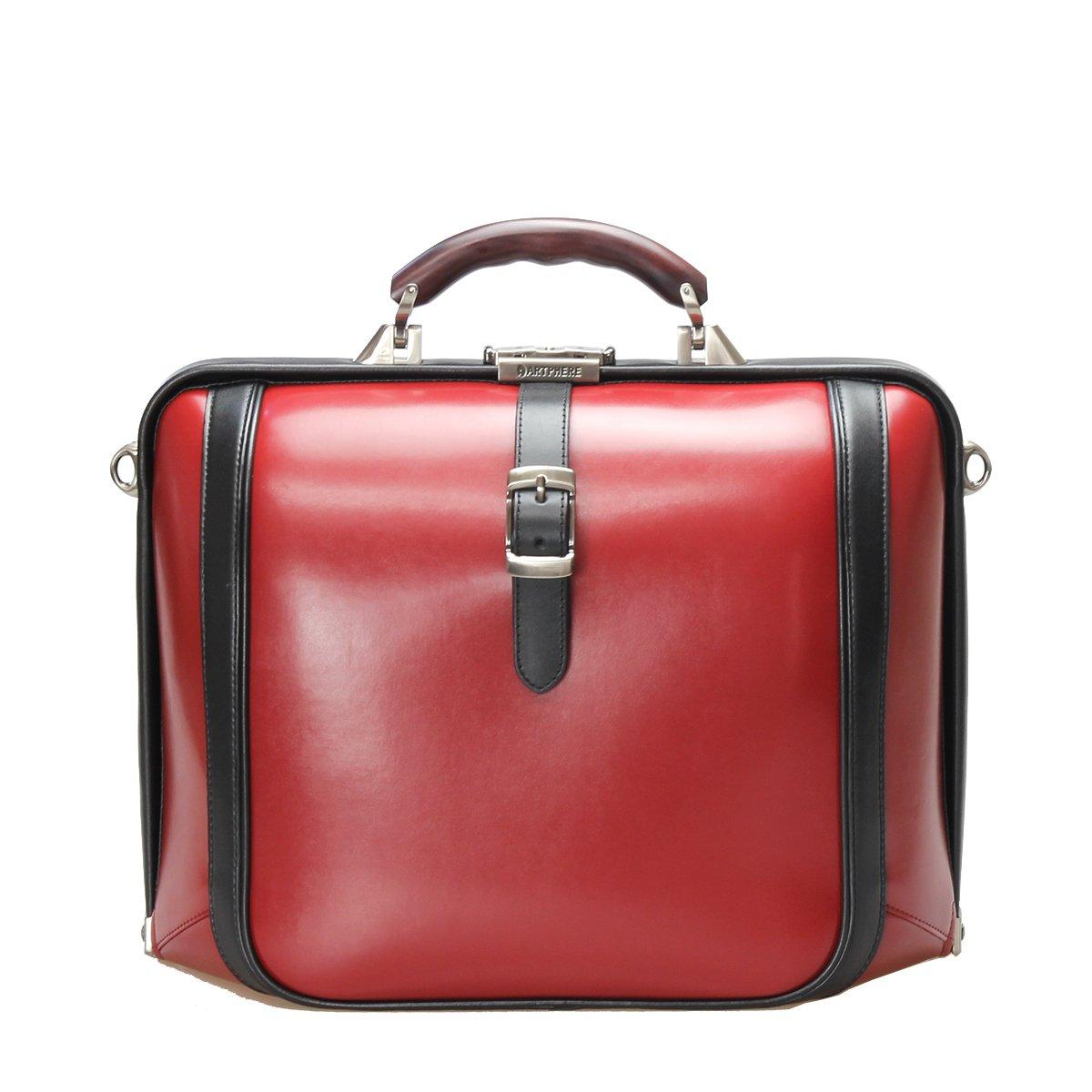 [アートフィアー] ダレスバッグ A4 ニューダレスタッチ ワイド DS3-TO メンズ B00E8YLF8U レッド(赤) レッド(赤)