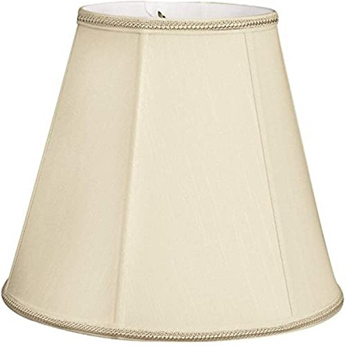 Royal Designs DDS-18-14HB 8 x 14 x 11 Empire Designer Lamp Shade, Honey Beige