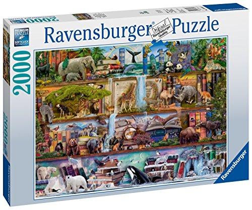 Ravensburger Aimee Stewart: Wild Kingdom Shelves-2000 Piece Jigsaw Puzzle