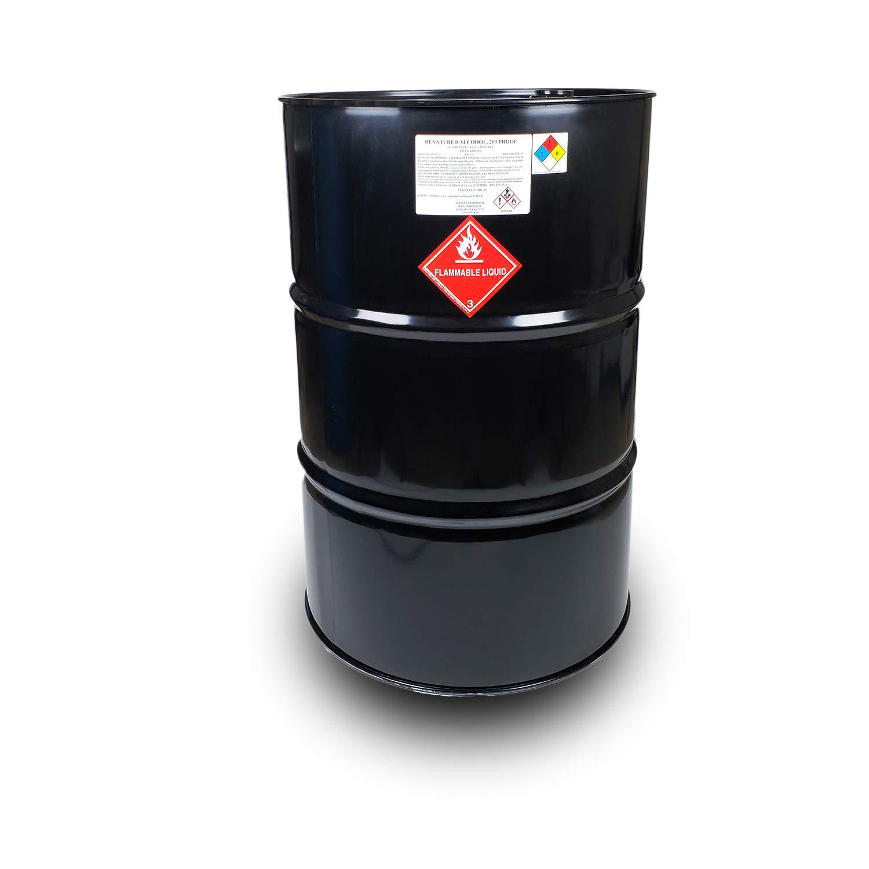 Denatured Alcohol 200 Proof 55 Gallon Metal Drum
