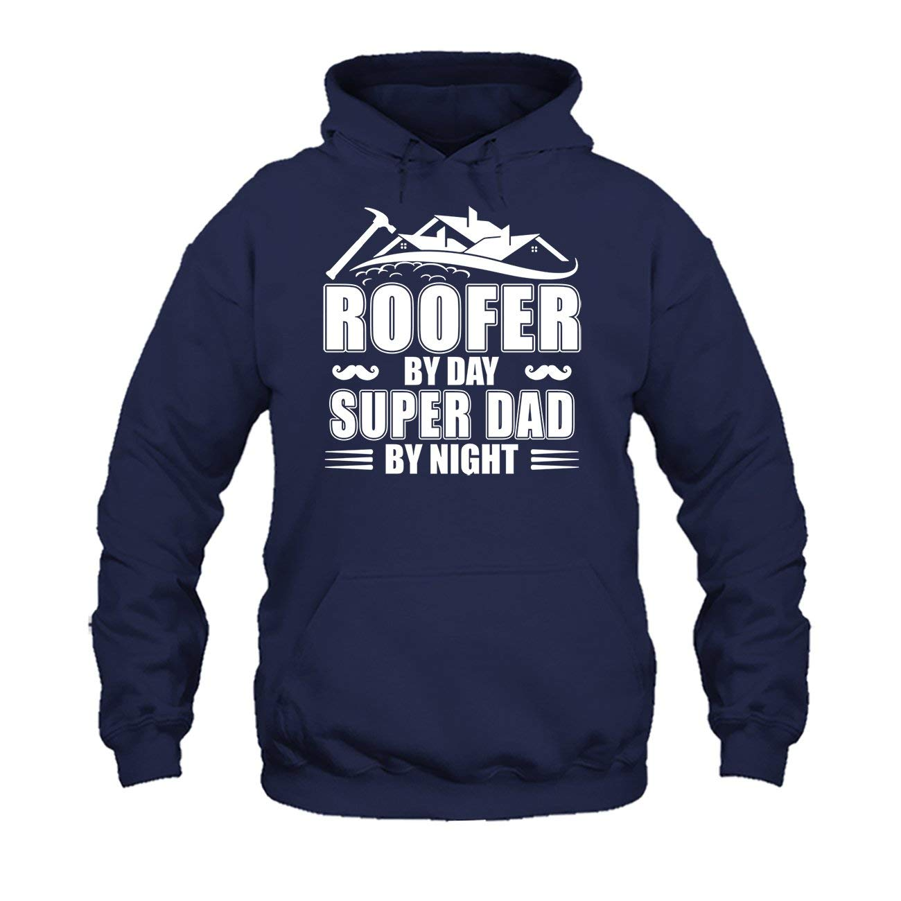 AreFrog Roofer by Day Super Dad by Night Tee Shirt Hoodies Shirt