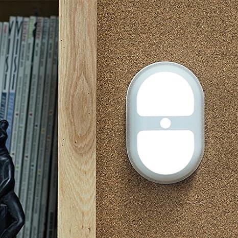 Mabor Lámpara de Noche, Luz de Noche, LED Sensor de Movimiento, Luces de