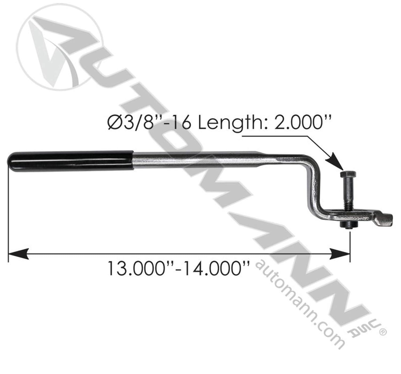 579.1075 Slack Adjuster Tool Automatic Automann Slack Adjuster Tool Automatic