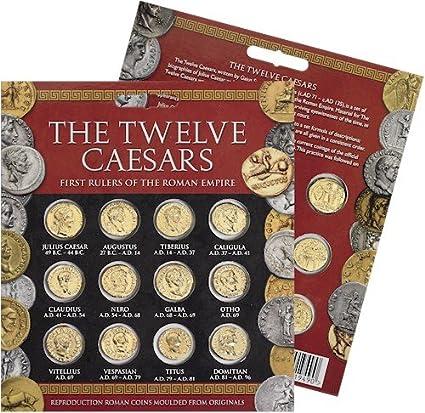 Gold Replica Coin Pack of Caesar